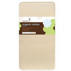 Naturepedic Organic Cotton Ultra 2 in 1 Crib Mattress