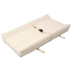 Naturepedic Organic Cotton 2-Sided Contoured Changing Pad