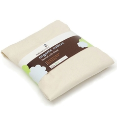 Naturepedic Organic Cotton Flannel Bassinet and Crib Fitted Sheet