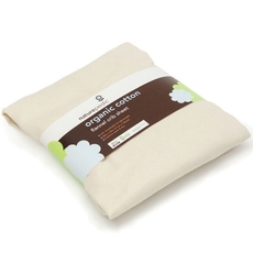 Naturepedic Organic Cotton Flannel Bassinet and Crib Fitted Sheet Set of 3