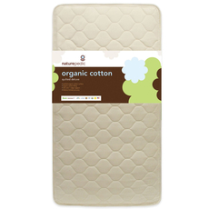 Naturepedic Organic Cotton Quilted Deluxe 252 Crib Mattress