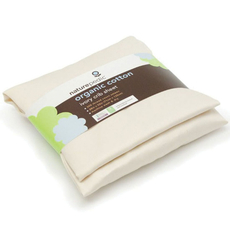 Naturepedic Organic Cotton Sateen Bassinet and Crib Fitted Sheet Set of 3 in Ivory
