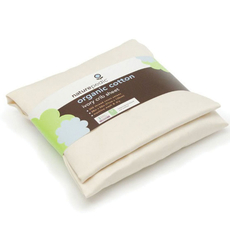 Naturepedic Organic Cotton Sateen Oval Crib Fitted Sheet fits Stokke Sleepi in Ivory