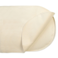 Naturepedic Organic Waterproof Pad - Oval Bassinet Flat Design