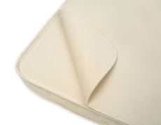 Naturepedic Organic Waterproof Pad - Rectangle Bassinet Flat Design