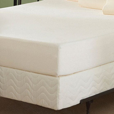 "Twin Nature's Sleep 8"" Visco Mattress Only"