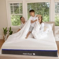 Nectar Lush Medium Firm 12 Inch Bed in a Box Queen Mattress Only SDMB032112 - Scratch and Dent Model ''As-Is''