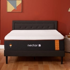 Queen Nectar Premier Copper Plush 14 Inch Bed in a Box Mattress