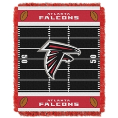 Atlanta Falcons NFL Field Woven Jacquard Baby Throw by Northwest Company