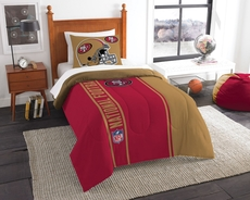 San Francisco 49ers NFL Comforter Set by Northwest Company