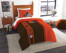 Cleveland Browns NFL Comforter Set by Northwest Company