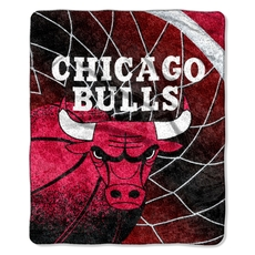 Chicago Bulls Sherpa Throw by Northwest Company