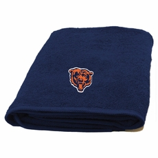 Chicago Bears Applique Bath Towel by Northwest Company