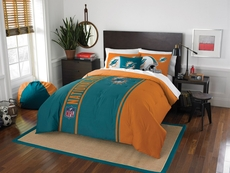 Miami Dolphins NFL Twin Comforter Set by Northwest Company