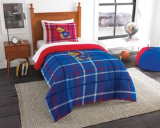 Kansas Jayhawks Comforter Set by Northwest Company