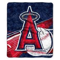 Los Angeles Angels Sherpa Throw by Northwest Company