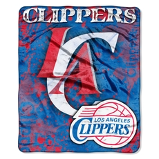 Los Angeles Clippers Raschel Throw by Northwest Company