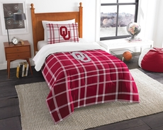 Oklahoma Sooners Comforter Set by Northwest Company