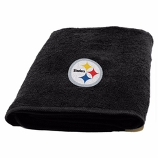 Pittsburgh Steelers Applique Bath Towel by Northwest Company