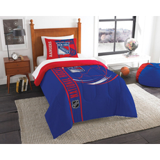 New York Rangers NHL Full Comforter Set by Northwest Company