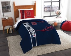 Boston Red Sox MLB Comforter Set by Northwest Company