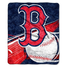 Boston Red Sox Sherpa Throw by Northwest Company
