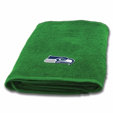 Seattle Seahawks Applique Bath Towel by Northwest Company