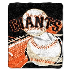 San Francisco Giants Sherpa Throw by Northwest Company