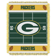 Green Bay Packers NFL Field Woven Jacquard Baby Throw by Northwest Company