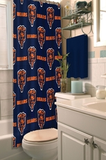 NFL Bears Shower Curtain by Northwest Company