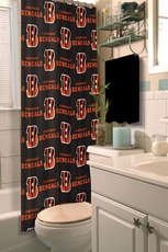 NFL Bengals Shower Curtain by Northwest Company
