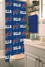 NFL Bills Shower Curtain by Northwest Company