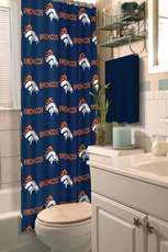 NFL Broncos Shower Curtain by Northwest Company