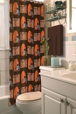 NFL Browns Shower Curtain by Northwest Company
