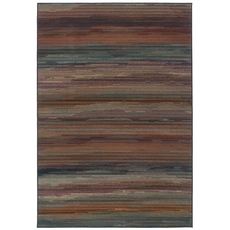 Oriental Weavers Adrienne 4138A Stripe Multicolor Area Rug