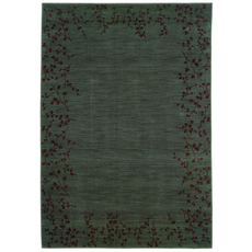 Oriental Weavers Allure 4D Floral Blue and Brown Area Rug