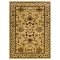 Oriental Weavers Amelia 568J Oriental Ivory and Green Area Rug