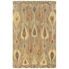 Oriental Weavers Anastasia 68000 Abstract Grey and Beige Area Rug
