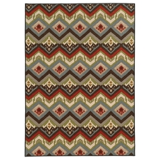 Oriental Weavers Arabella 15754 Geometric Multi Colored Area Rug