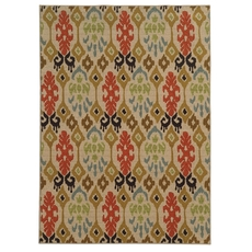 Oriental Weavers Arabella 15765 Abstract Multi Beige Area Rug