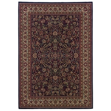 Oriental Weavers Ariana 113B Oriental Blue and Red Area Rug