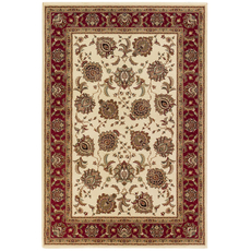 Oriental Weavers Ariana 117J Oriental Ivory and Red Area Rug