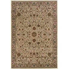 Oriental Weavers Ariana 172W Oriental Ivory and Green Area Rug