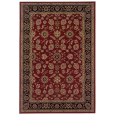 Oriental Weavers Ariana 271C Oriental Red and Black Area Rug