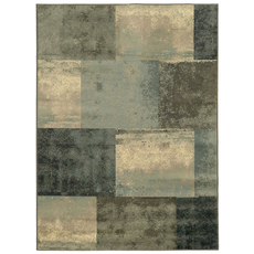 Oriental Weavers Brentwood 2061Z Geometric Green and Blue Area Rug