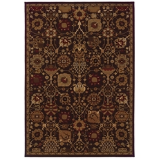 Oriental Weavers Cambridge 4520N Oriental Multi Purple Area Rug