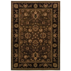 Oriental Weavers Cambridge 530N Oriental Brown and Black Area Rug