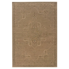 Oriental Weavers Chloe 3979B Oriental Tan and Beige Area Rug