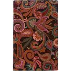 Oriental Weavers Eden 87103 Floral Paisley Brown and Purple Area Rug