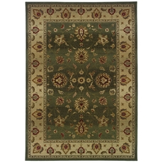 Oriental Weavers Genesis 34F Oriental Green and Beige Area Rug